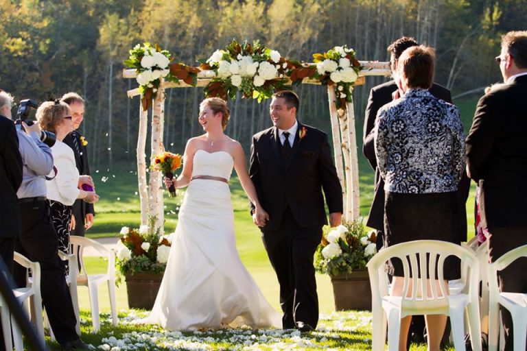 I Do Flowers and Decor Ceremony Birch Arbour