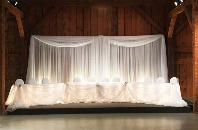 I Do Flowers and Decor Linens and Backdrops