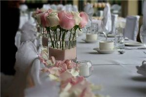 I Do Pretty Flower Wedding Centerpieces